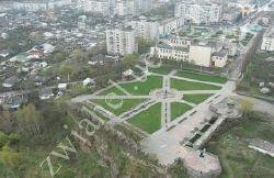Новоград-Волынский.Современный общий вид крепости