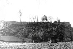 Новоград-Волынский. Вид на крепость с берега Случи