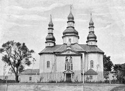 Воскресенская церковь в поселке Брусилов Радомысльского уезда, 1711 год