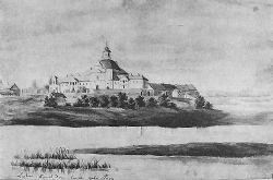 Любар.Костел парафіяльний домініканський і кляштор. Наполеон Орда 1876г.
