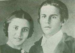 Город Малин. Герой Советского Союза Нина Соснина и ее брат Валентин.