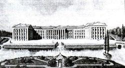 Главный дворец графов Ильинских в Романове